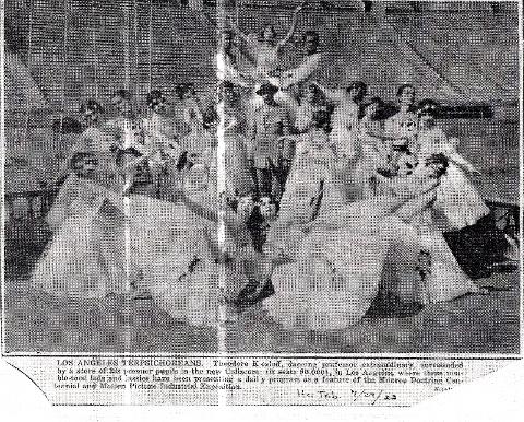 Kosloff dance troupe that performed at the LA Coliseum