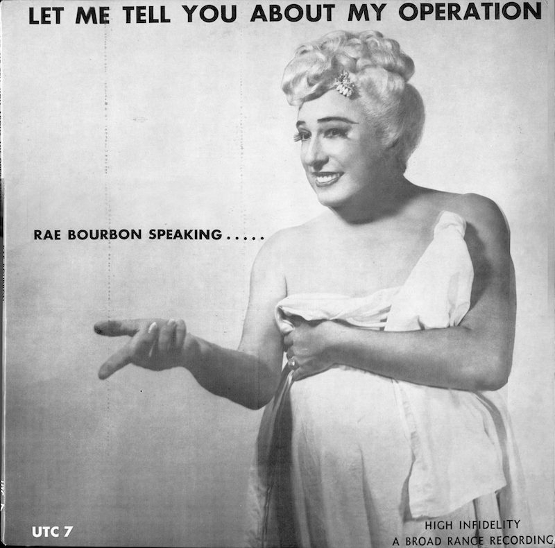 "Cover of Ray's album, ""Let Me Tell You About My Operation"""
