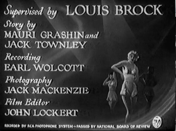 "Still of title slide from ""Hip Zip Hooray"" showing production credits"