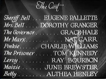 """Still of cast list from """"Hip Zip Hooray"""""""